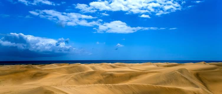 Maspalomas sand dunes, Grand Canaria