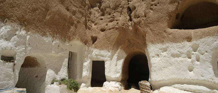 Matmata's underground homes