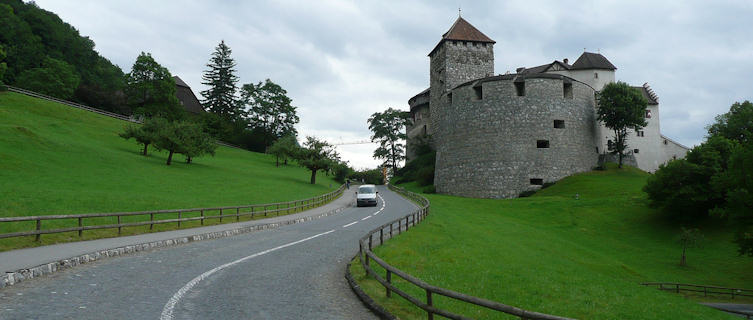 Medieval castle of Schloss Vaduz
