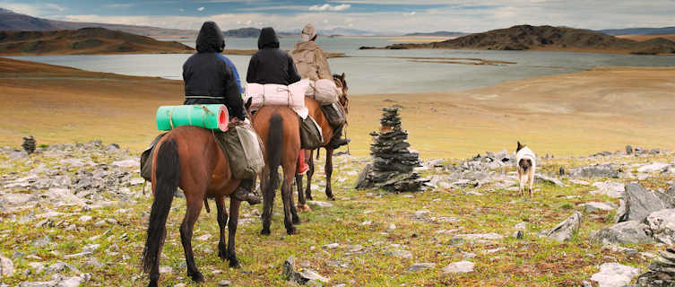 Mongolians are avid horseriders