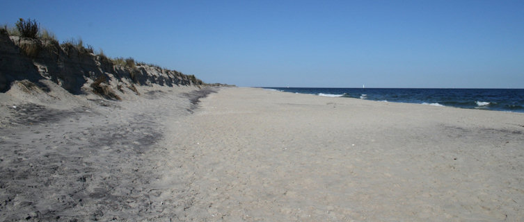 Monmouth Beach, New Jersey in autumn