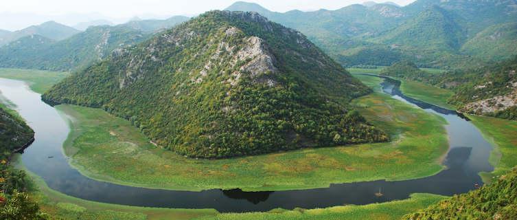 Montenegro's beautiful mountains