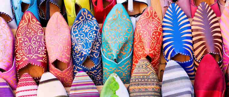 Morocco's colourful souks