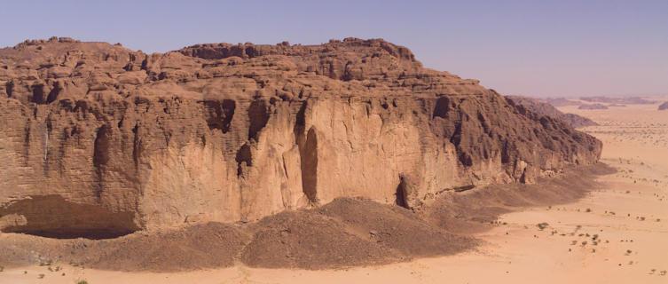 Mountainous desert in Sub-Saharan Chad