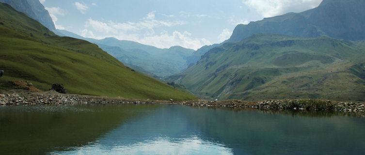 Mountains near Suvar, Azerbaijan