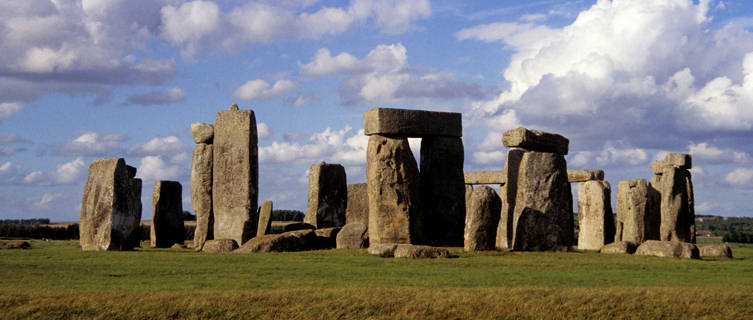 Mysterious Stonehenge, England