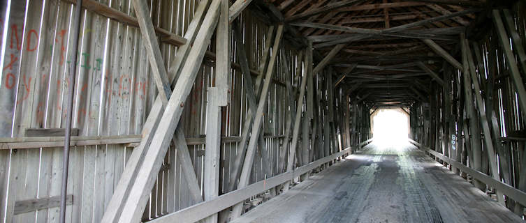 New Brunswick has many historic covered bridges