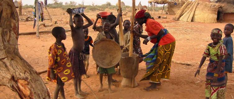 Niger pilage du mil