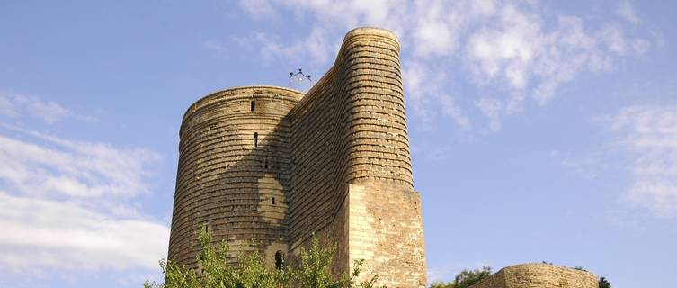 Old medieval tower, Baku, Azerbaijan