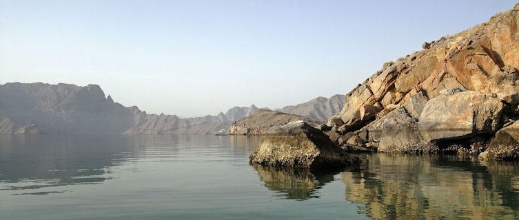 Oman's mountainous coast