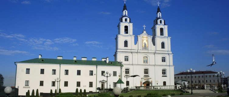 Orthodox cathedral, Minsk, Belarus