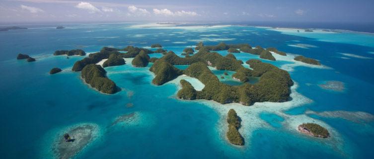 Palau's 70 islands