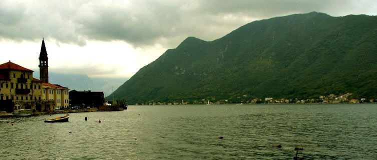 Perast historical town