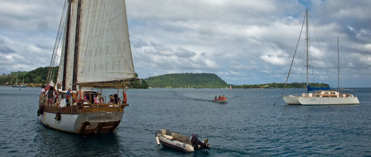 Port Vila harbour
