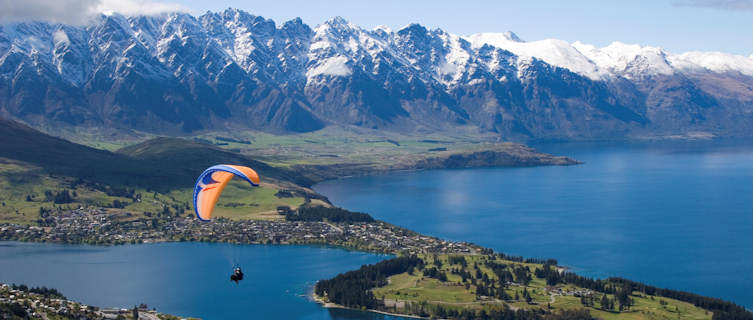 Queenstown on South Island, New Zealand
