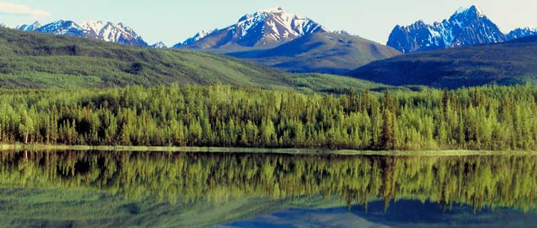 Rabbitkettle Lake, Nahanni National Park, Northwest Territories