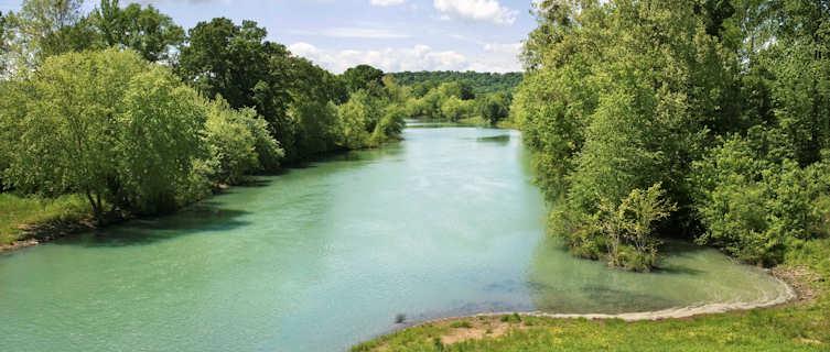 River in Ozark Mountains, Arkansas