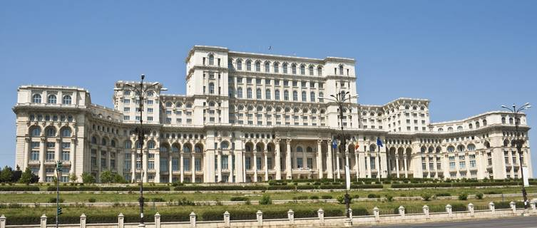 Romania's Palace of Parliament, Worlds' 2nd Largest Building