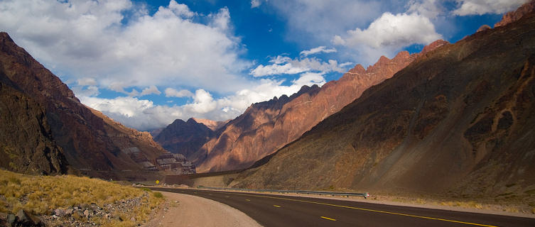Route 7 through the Andes, Chile