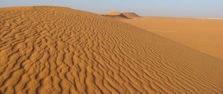Sand dune in Algeria