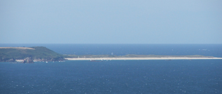 Sark, viewed from Herm