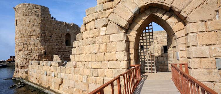 Sidon castle, Lebanon