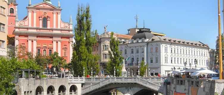 Slovenia capital Ljubljana