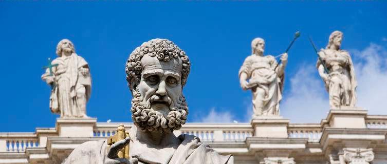 St Peter statue, St Peter's Basilica, Vatican City