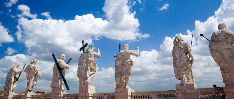 Statues, St Peter's Basilica, Vatican City