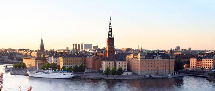Stockholm is Sweden's capital