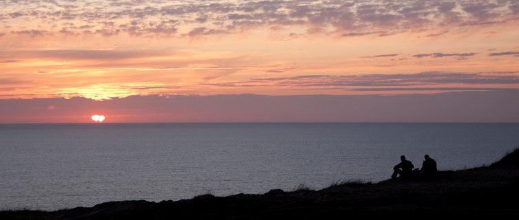 Sunset at Grosnez, Jersey