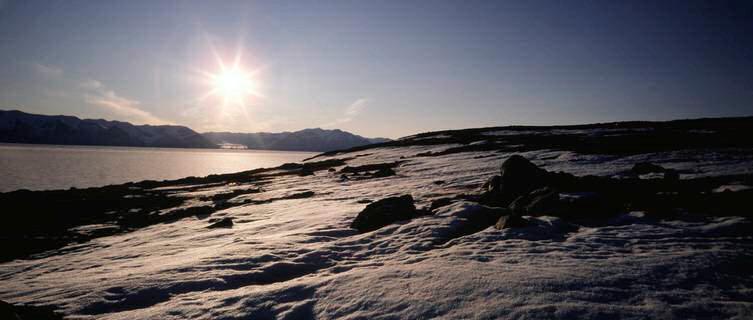 Sunset, Baffin Island, Nunavut
