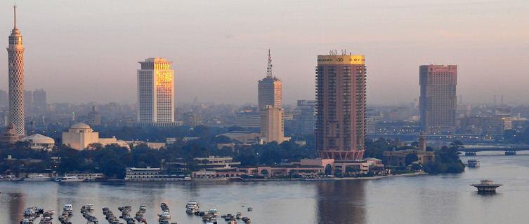 Sunset in Cairo