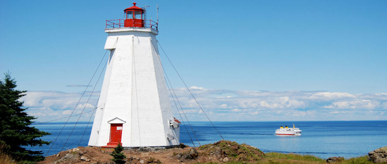 Swallowtail is one of many lighthouses in New Brunswick