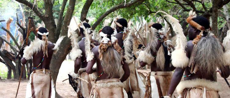 Swazi tribal dance, Swaziland