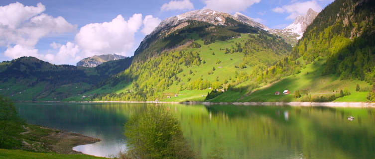 Swiss Alps in summer