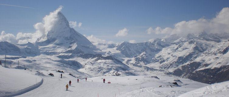 Swiss ski resort of Zermatt