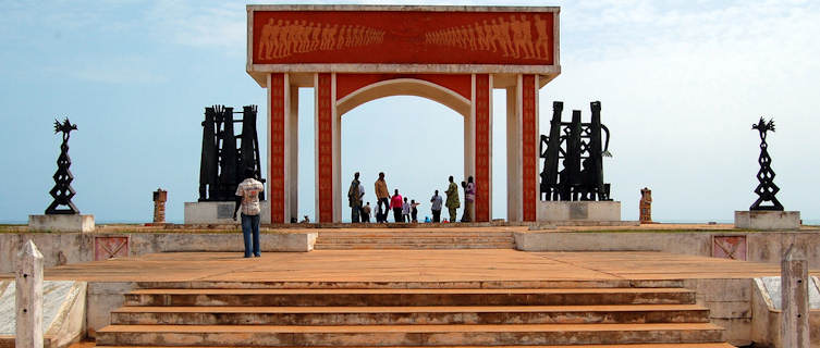 The door of no return, UNESCO heritage site, Ouidah, Benin