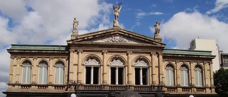 The National Theatre, San Jose, Costa Rica