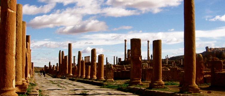 Timgad ruins, Algeria