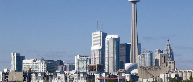 Toronto's CN Tower, Ontario