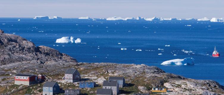 Town Kulusuk, Greenland