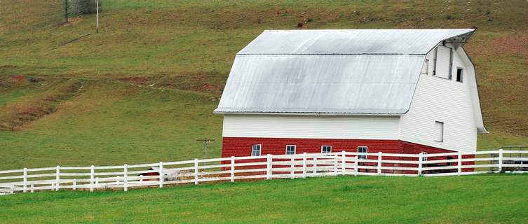 Traditional farm, West Virginia