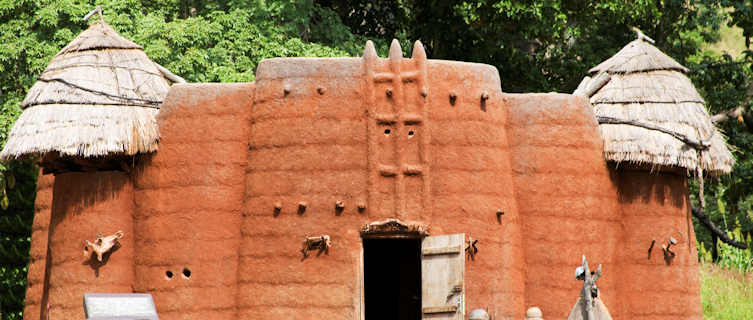 Traditional tower-houses, Koutammakou, Togo