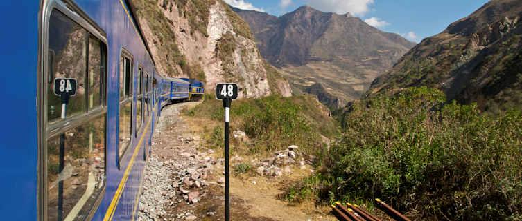 Train to Machu Picchu, Peru