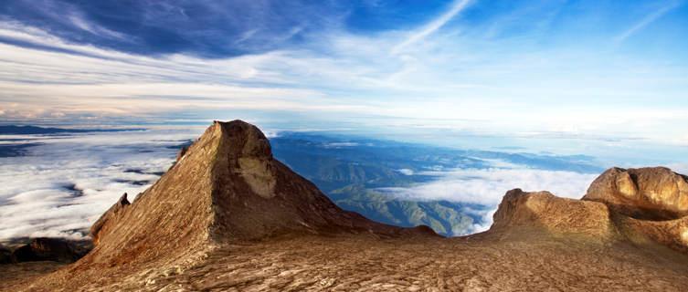 Trek to the summit of Mount Kinabalu in Malaysia