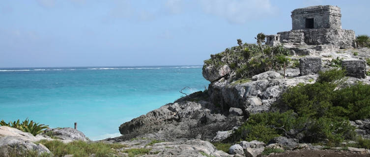 Tulum combines fascinating ancient ruins with beautiful sandy beaches