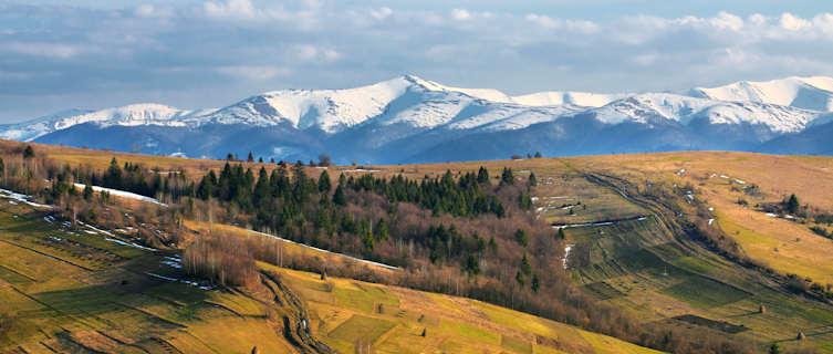 Ukraine's Carpathian Mountains