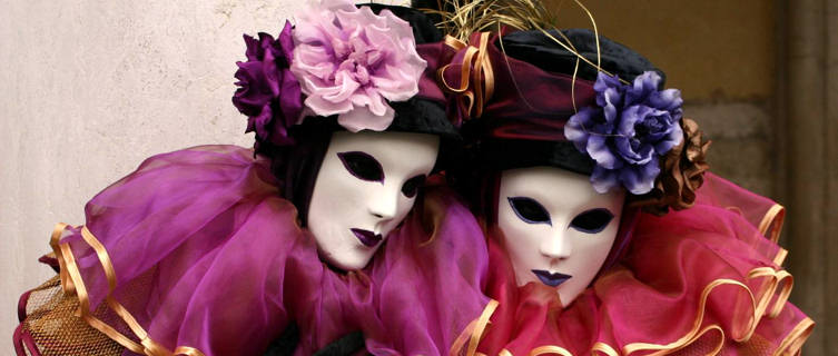 Venice Carnivale is a huge attraction