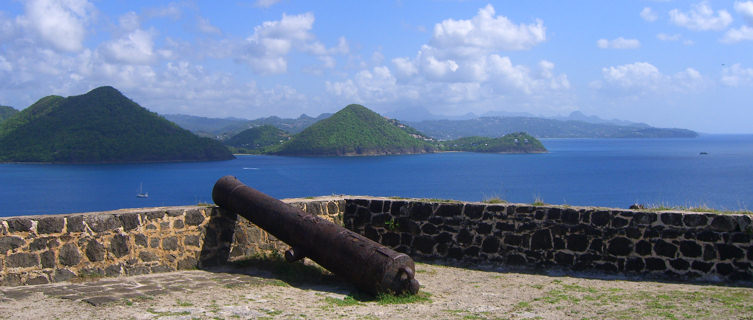 View from Pigeon Island, St Lucia